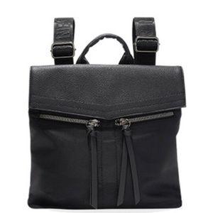 Botkier New York Mini Trigger Black Zip Backpack
